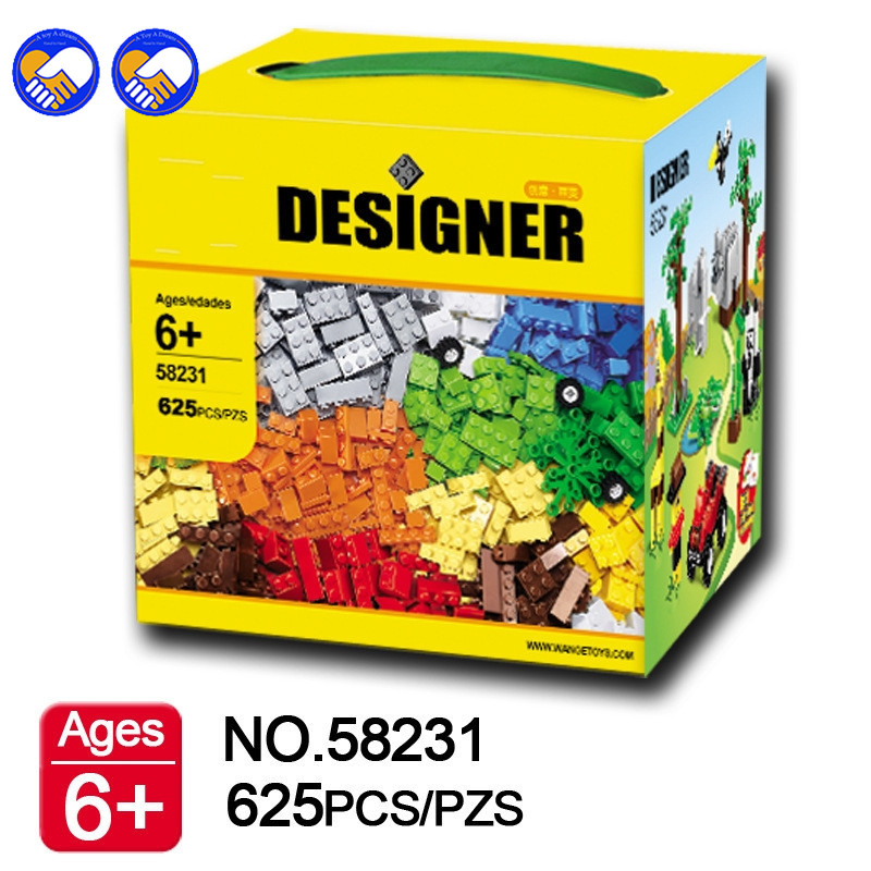 A toy A dream 58231 DIY Basic Creative Bricks Building Block 625pcs Toy for Children Educational Toy Jugutets Brinquedos Lepin 8inch lcd matrix display for teclast p80h d4c8 screen display tablet pc parts free shipping