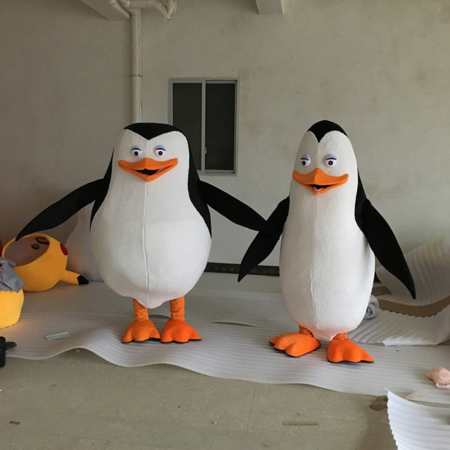 Madagascar Penguin Mascot Costume Fancy Dress for party&Halloween