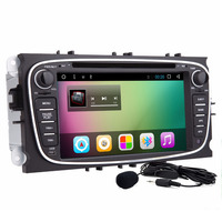 Capacitive Screen 2 din quac core Pure Android 8.01 Car DVD Navigation for Ford Mondeo S Max C max Focus car Radio dvd player