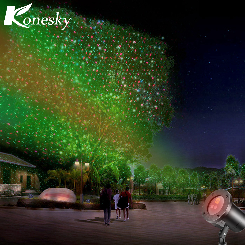 Led Laser Firefly Projector Fairy Stage Light Outdoor