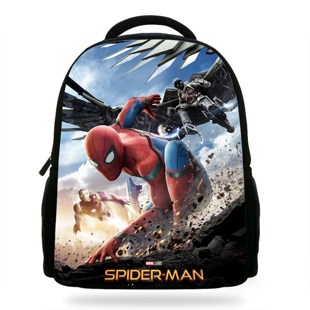 14Inch New Style Superhero Backpack For Kids School Spiderman Bags For Children  Boys Girls School Bookbags f623053b072ac