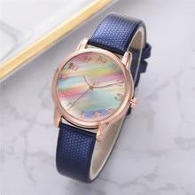 New Ladies Clock Simple Sliver Fashion Marble Female Wrist Watch Women Steel Mesh Quartz Watches Reloj Mujer Montre Femme 2019