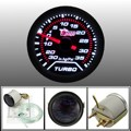 "2 ""52mm Turbo Boost Gauge PSI Humo Cara Del Dial Blanco LED Luz Interior Dash"