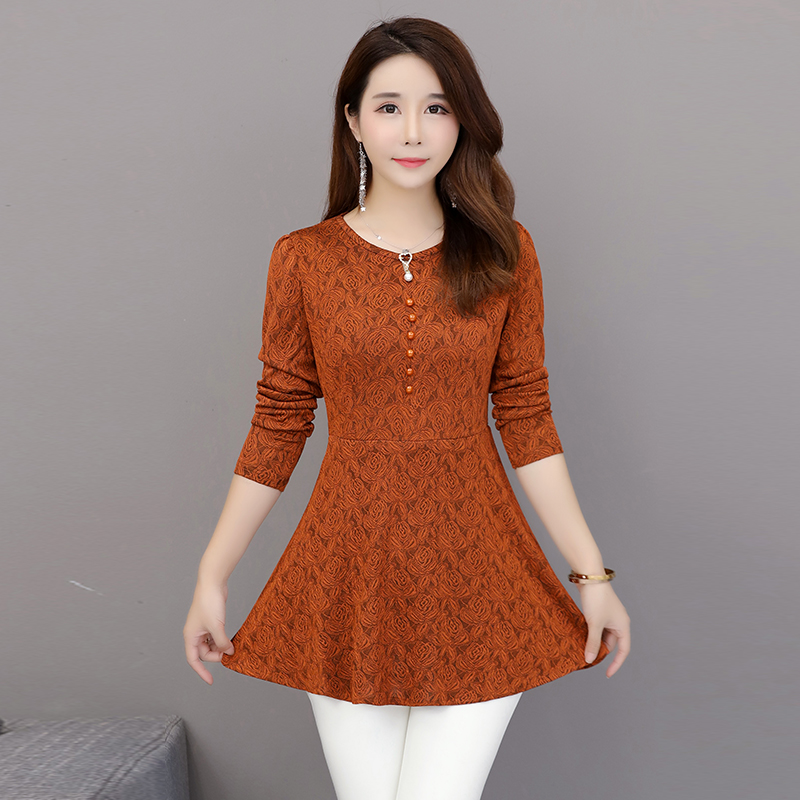 2018 New Autumn Fashion Women   Shirts   Full Sleeve Lace Day Lapp Brim Accept Waist Lotus Leaf   Blouse     Shirt   Purple Green 8896