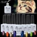 LABORATORIO DE GEL 10 ml del Ojo de Gatos Magnética Imán 3D Shinny UV Soak esmalte De Uñas de gel Elegir 1 Colores De 90 Colores a Largo duradera