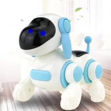 Buy Electronic Toys Sound Light Walking Robot Dog Robot Toy Educational Toys For Children Musical Lol Electronic Pet Dog directly from merchant!