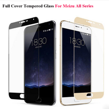 GerTong Full Cover Tempered Glass For Meizu M5 M6 Note M5S M5C M3 Note M3S M3 Mini Pro 6 U10 U20 Screen Protector Glass Film