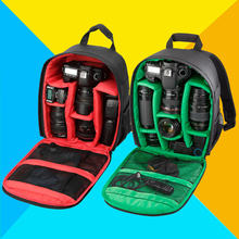New Pattern DSLR Camera Video Photo Accessorries Bag Backpack Lens Speedlite Bags for Canon Nikon Small Compact Camera Backpack