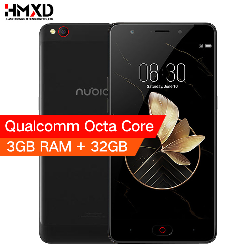 Original Nubia M2 Play 3G Ram 32G Rom Qualcomm MSM8940 Octa Core 5.5 inch 13.0MP Camera 3000mAh Fingerprint ID Smartphone