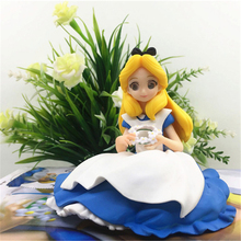 Haocaitoy Figure Toys Crystalux Anime Action Figures Alice Dolls PVC Model Toys Cute Keihin For Collecting Gift 9cm haocaitoy figure toys 4 leaves tony anime action figures daisy dolls 1 6 scale pvc model toys swimwear for collecting gift 14cm