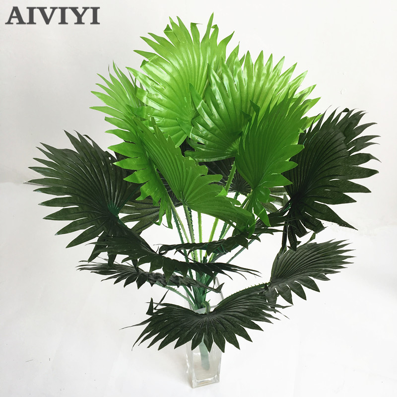 Foreign trade excellent products 15 leaves artificial coconut palm plant tree wedding family church flower shop furniture decoraForeign trade excellent products 15 leaves artificial coconut palm plant tree wedding family church flower shop furniture decora