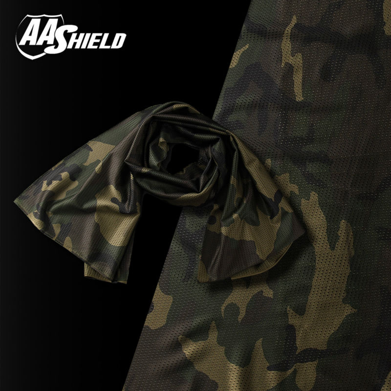 AA Shield Camo Tactical Scarf Outdoor Military Neckerchief Forest Hunting Army Kaffiyeh Scarf Light Weight Shemagh Woodland aa shield camo tactical scarf outdoor military neckerchief forest hunting army kaffiyeh scarf light weight shemagh desert dig