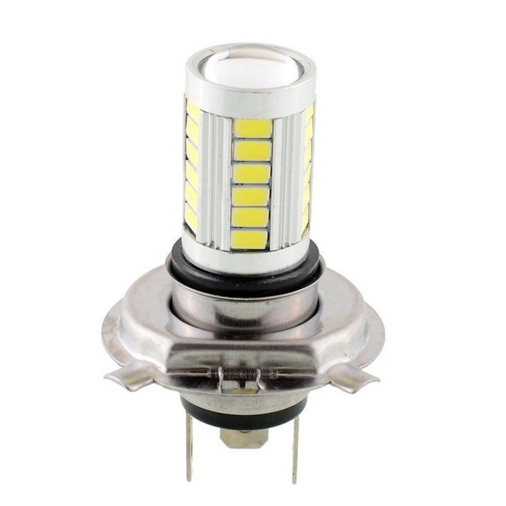 New Durable And Sturdy Automobile Accessories H4 5630 33SMD Double Light Car LED Front Fog Light Hot Selling