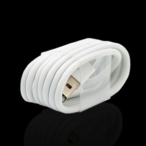 Image 3 - 50PCS/Lot EU Plug Wall USB Charger For iPhone 8 Pin Charging Cable + Charger Adapter For Apple iPhone 6 7 Plus 5S 5 White Color