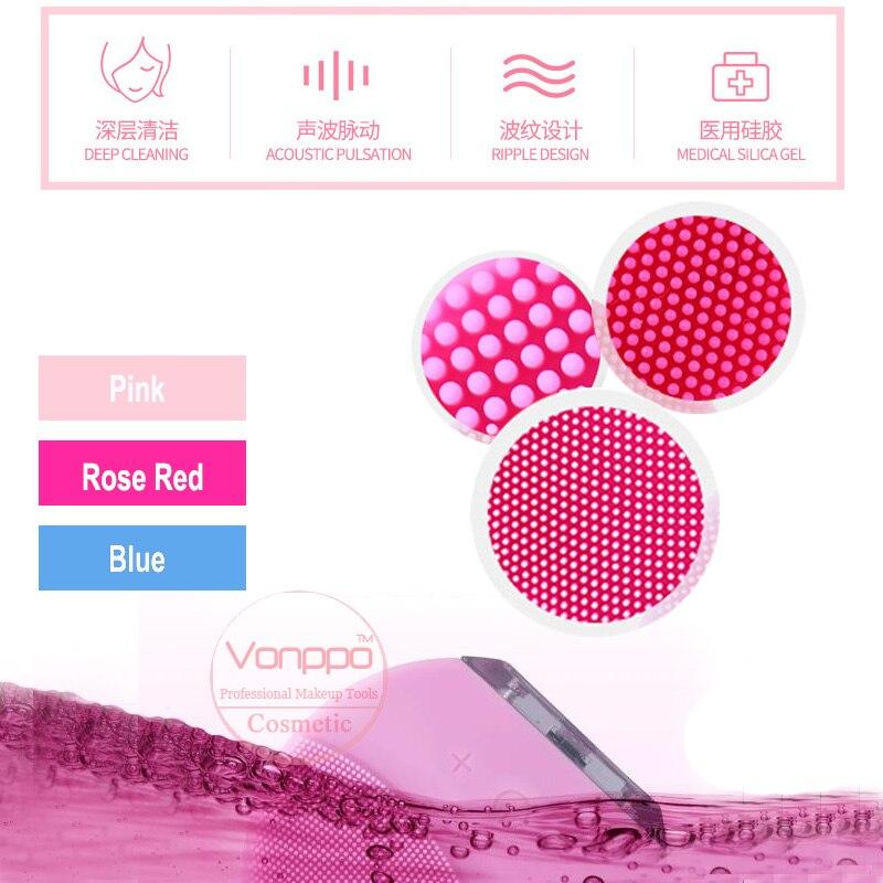 Nuevo cepillo Facial resistente al agua silicona dispositivos faciales herramientas envío gratis