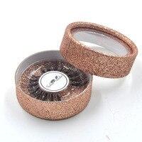 100pcs wholesale eye lahses round boxes Custom false eyelashes box designyour own logo Tailor made for small wholesale customers