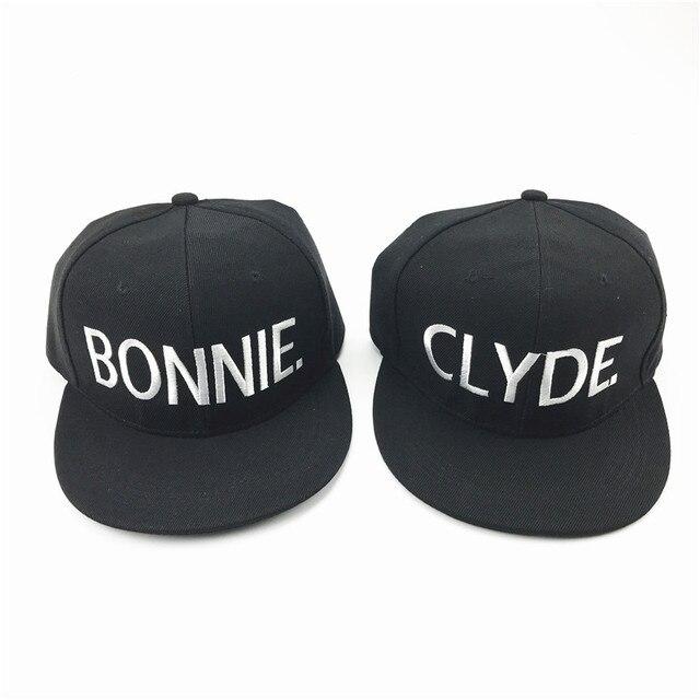 بوني كلايد إلكتروني Snapback قبعات رجل و امرأة زوجين البيسبول كاب قابل للتعديل الهيب هوب مرحبا كارهي العلامة التجارية Snapback قبعات القبعات