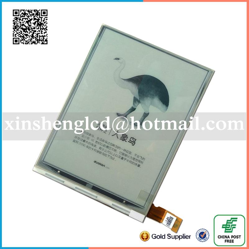 NEW Original E Ink Pearl HD Display for Digma E605 Ebook eRader E-Ink LCD Screen Glass Panel E-book replacement