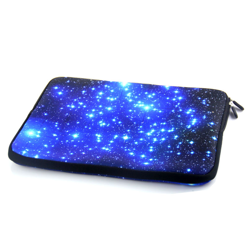 Sinine Galaxy sülearvuti kott tõmblukuga neopreenist sülearvuti - Sülearvutite tarvikud - Foto 6