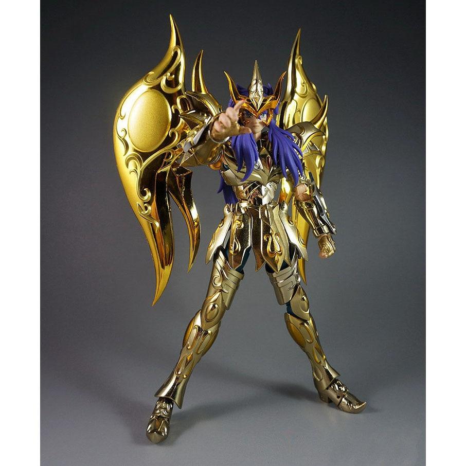 CMT Great Toys GT Ex Scorpio Milo Soul of Gold Gud Saint Seiya Metal - Toy figuriner - Foto 4