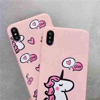 Cute Pink Unicorn Phone Case