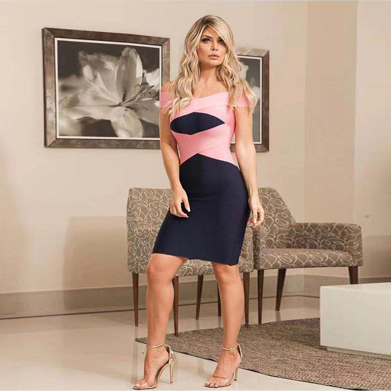 Ocstrade Dress Shoulder Sexy 5