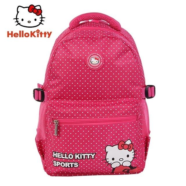 O Kitty Women Sports Backpacks Running Bags New Pink Cute Outdoor School Bag Book