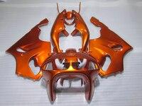 Venda quente kit carenagem de plástico para Kawasaki ninja ZX7R 96 97 98-03 ouro conjunto carroçaria carenagens ZX7R 1996-2003 OT22