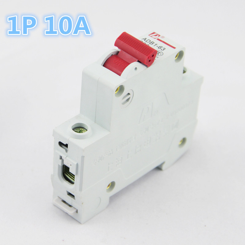 1P 16A 230//400v~ 50HZ//60HZ Mini Circuit breaker MCB C45 C type