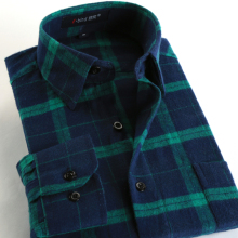 Plaid flannel shirt men online shopping-the world largest plaid ...
