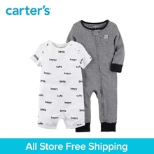 Carter s 2 Piece baby children kids clothing Boy Spring Summer Jumpsuit Romper Set 126H169
