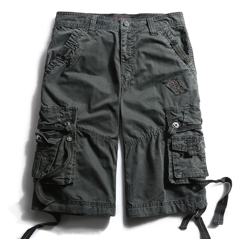 5b7704f54d14 Fashion Summer Men Military Shorts Cargo Camo Casual Baggy Tactical Army Short  Pants Men s Cotton Loose Fit Short Trousers 788-in Casual Shorts from Men s  ...