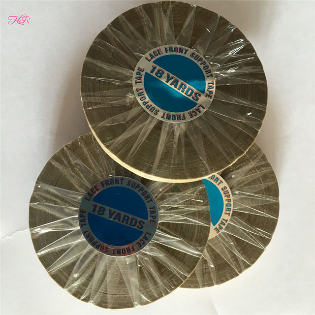 5-50 Rolls Hair Extension Double Sided Tape 0.8 CMX18YARDS Extra Strong Double Sidedkraft  Adhesive Tape For Wig