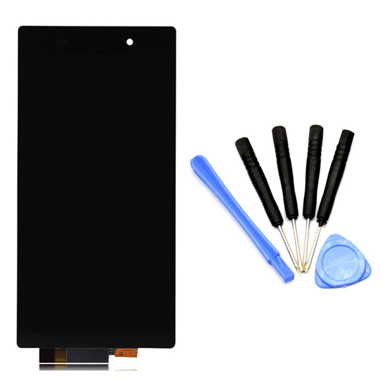 Black LCD display Sony Xperia Z1 L39H L39 C6902 C6903 C6906 touch screen digitizer full assembly free tools - Jump Co., ltd store