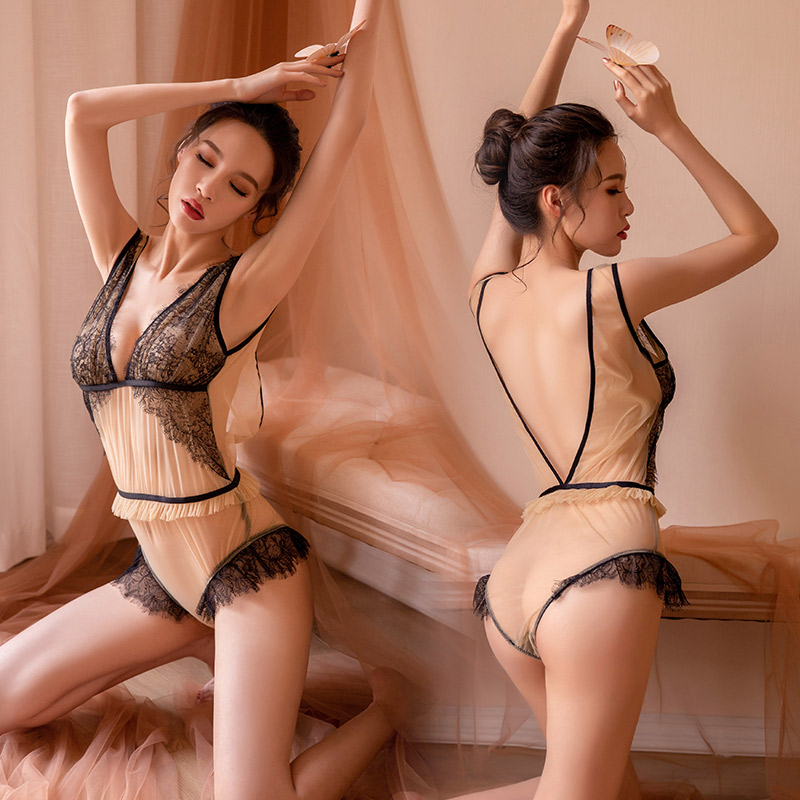 Buy Exotic Apparel Sexy Lingerie Women Novelty Pole Sexy lace Bodysuit Lingerie Backless Teddies Hip Exotic Bodysuit Babydoll Night for only 21.15 USD