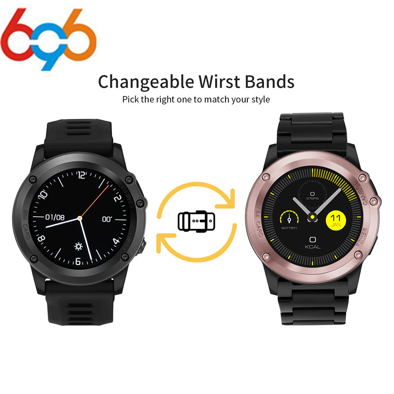 696 H1 MTK6572 Bluetooth IP68 Waterproof Smartwatch with Camera SIM Support GPS/ WIFI Heart Rate Health Tracker Smart watches no 1 f2 ip68 bluetooth smartwatch green