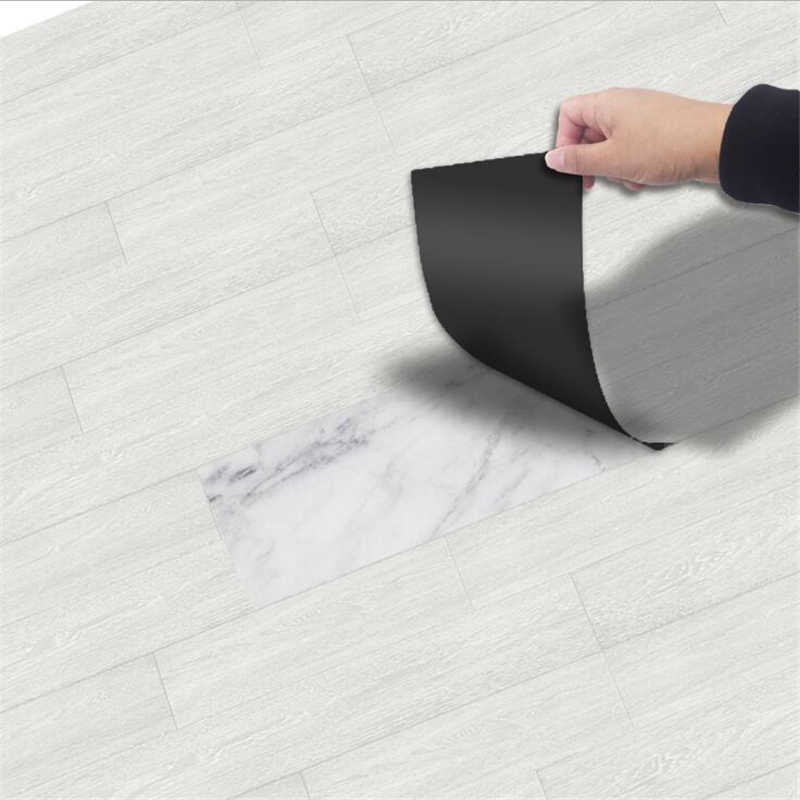 Funlife thick self-adhesive floor stickers PVC floor paper bedroom kitchen environmentally friendly vinyl floor stickers EWF002