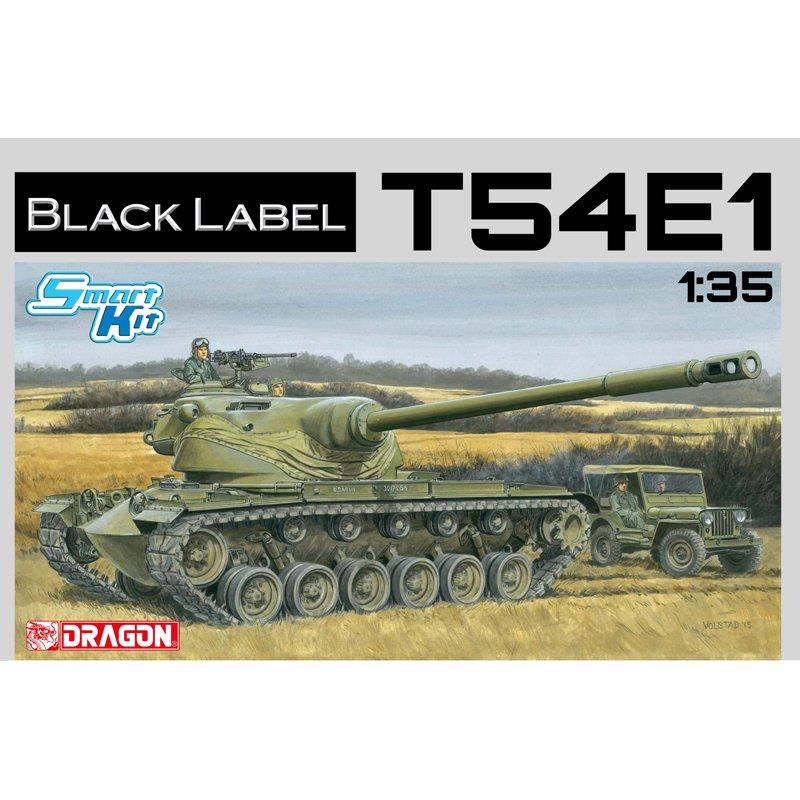 DRAGON 3560 1 35 T54E1 Tank Scale model Kit