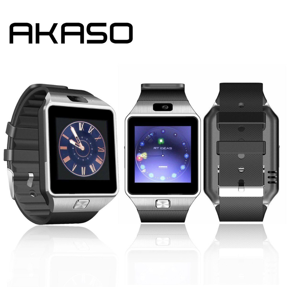 Wearable Devices DZ09 Smart Watch Support SIM TF Card Electronics Wrist Watch Connect Android Smartphone DZ09