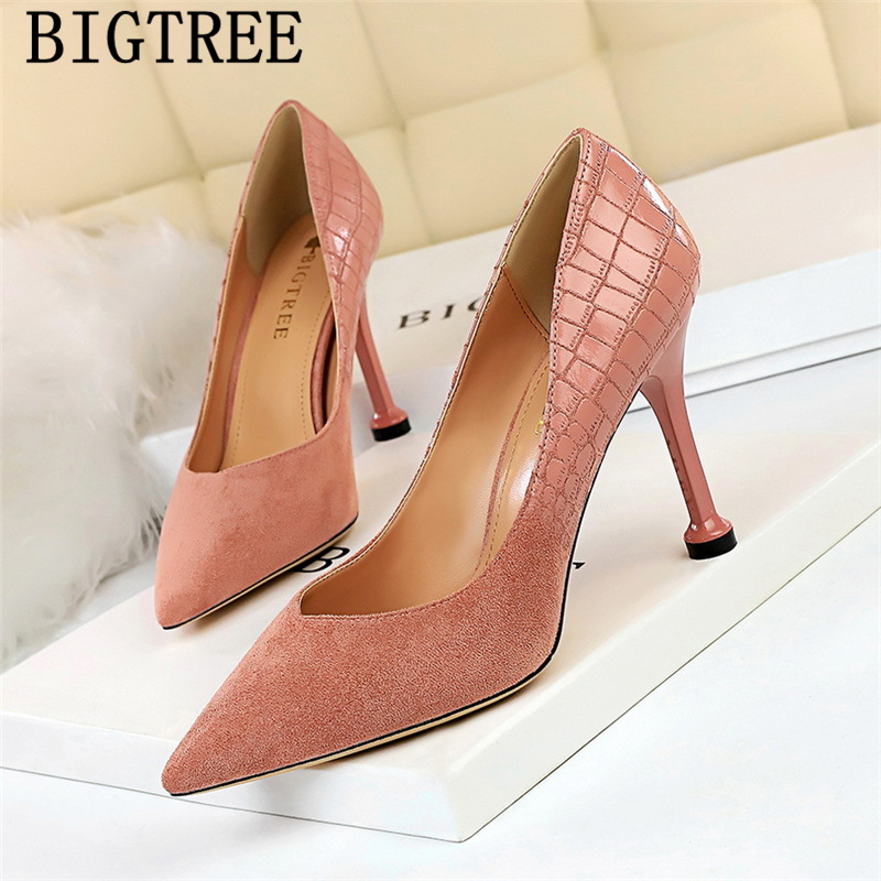 pumps women shoes wedding heels bigtree shoes fetish high heels sexy office shoes women pointed toe high heels tacones mujer pumps women shoes wedding heels bigtree shoes fetish high heels sexy office shoes women pointed toe high heels tacones mujer