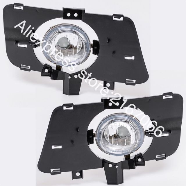 Fog Lights Fits Mazda 3 Sport 2004 2005 2006 2007 2008 Clear Driving Lamps Pair Bn9c51690 Bn9c51680