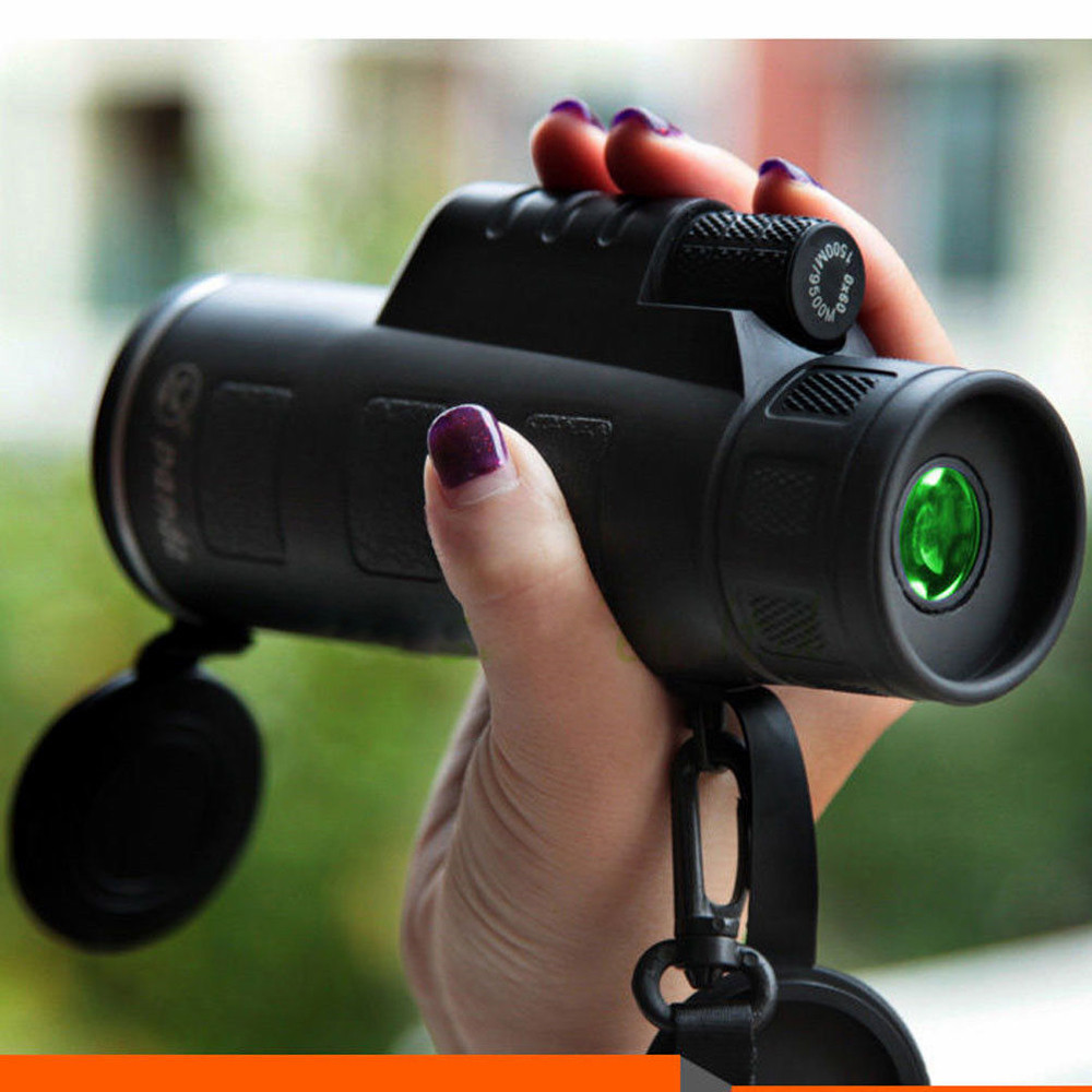 MUQGEW Venta caliente Super alta potencia 40X60 HD portátil óptica BAK4 visión nocturna Monocular telescopio binoculares en stock Dropshipping. exclusivo.