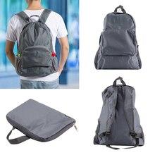 30L Cheap Sport Bags Folding Outdoor Backpack Ultralight Nylon Portable Foldable Shoulder Travel Trekking Gym Bag