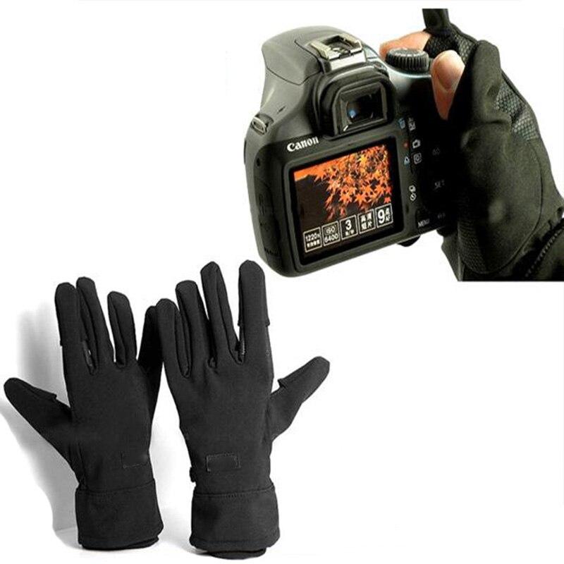 Wasserdichte Foto Handschuhe Anti-skid Warme Outdoor Kamera Schießen Handschuh für Canon Nikon Sony Pentax Kamera zubehör