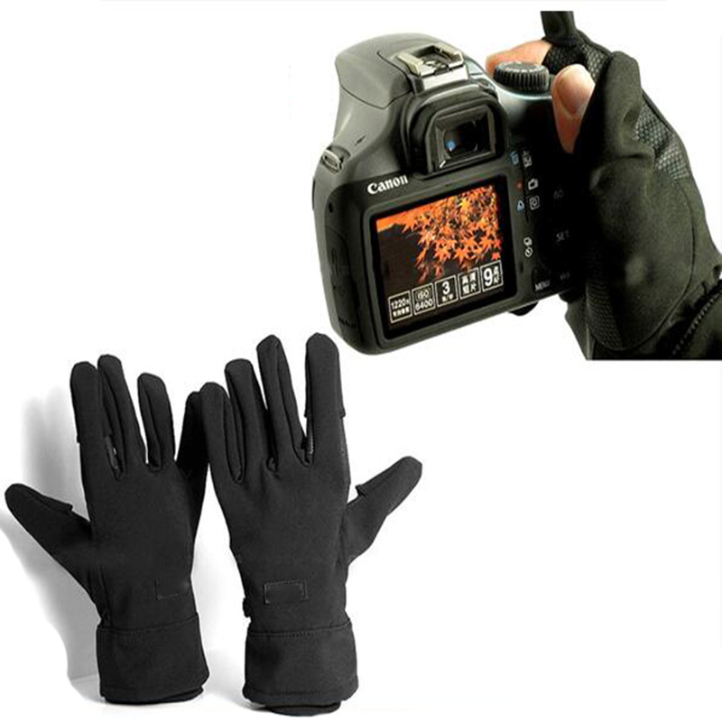 Waterproof Photographic Gloves Anti Skid Warm Outdoor