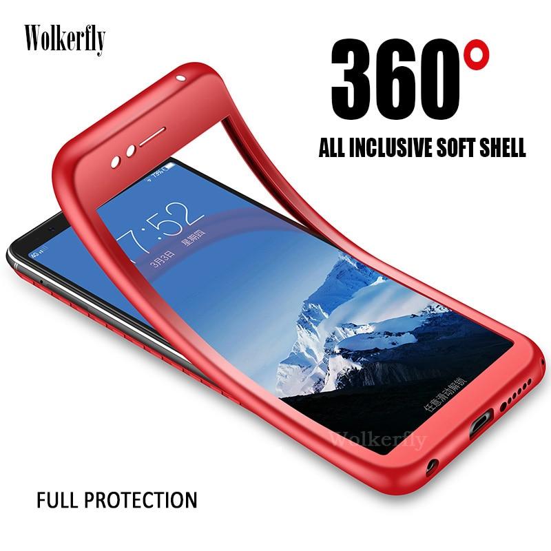 Clothing, Shoes & Accessories 360 Degree Full Cover Tpu Phone Cases For Xiaomi Mi 8 Se 5x 6x Redmi Note 4 4x 5 Pro Silicon Case On Redmi 6 6a Pro 4x 5a 5 Plus