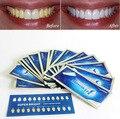 14 Par/set 3D Tiras de Blanqueamiento de Dientes Gel de Cuidado de la Higiene Oral Clareador Dental Blanqueador 3D Herramientas de Blanquear Los Dientes