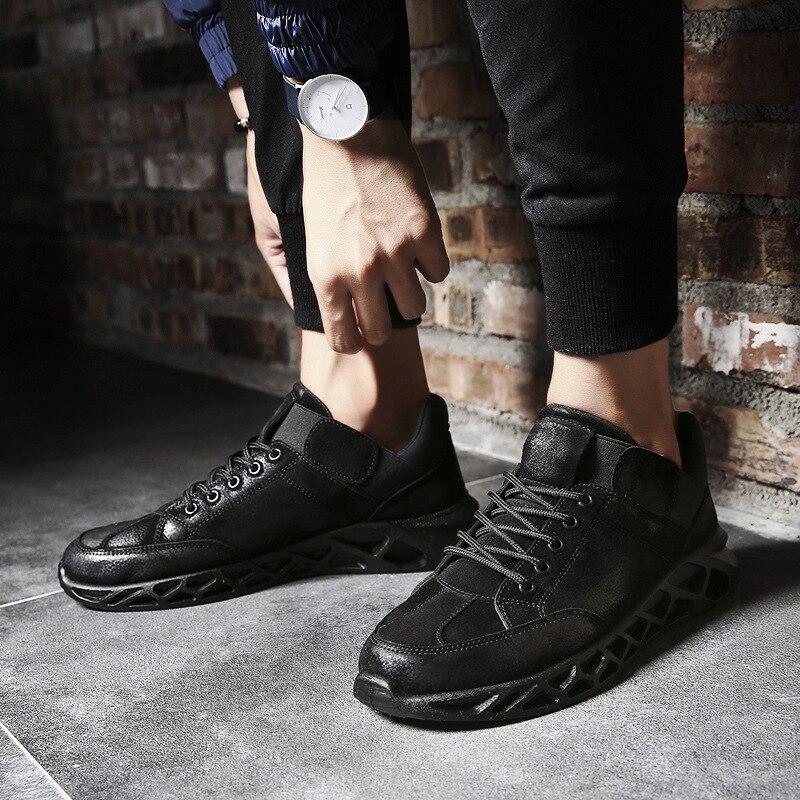 Mode De Hommes Arrivée Qualité Plat Tenis Sneaker Lace Masculino Top up Nouvelle Confortable Chaussures Adulto SqFBngx