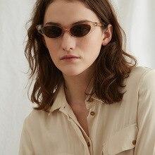 MARC NEW WOMEN fashion Sunglasses Transparent Gradient Plastic Goggle Resin Leopard eyewear men cat eye UV400
