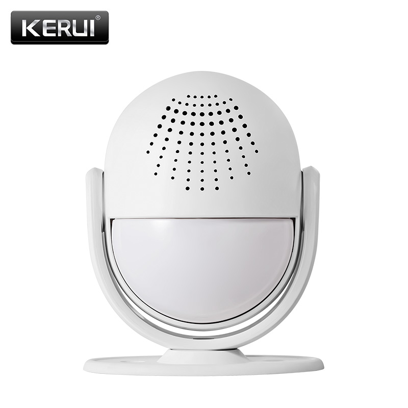 KERUI M6 Smart Alarm System Enter Door Welcome Chime Home Shop Doorbell Welcome Device Wireless Infrared Anti-theft Alarm